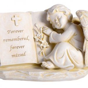 guardian angel memorial ornament