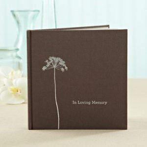 in loving memory inspirational quote book