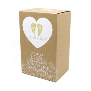 beside us everyday angel sympathy figurine gift box