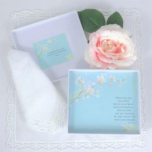 blossom handkerchief