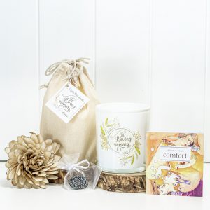 Candle For Comfort Sympathy Hamper Box