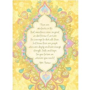 care deeply sympathy card
