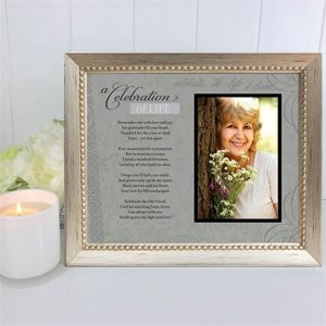 Celebration Of Life Photo Frame & Verse