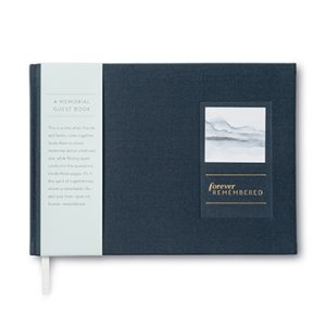 forever remembered funeral memorial guest book
