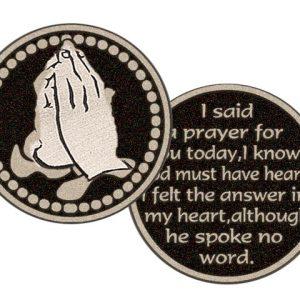 i said a prayer pocket token