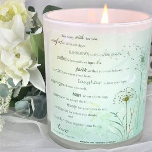 my wish for you memorial candle