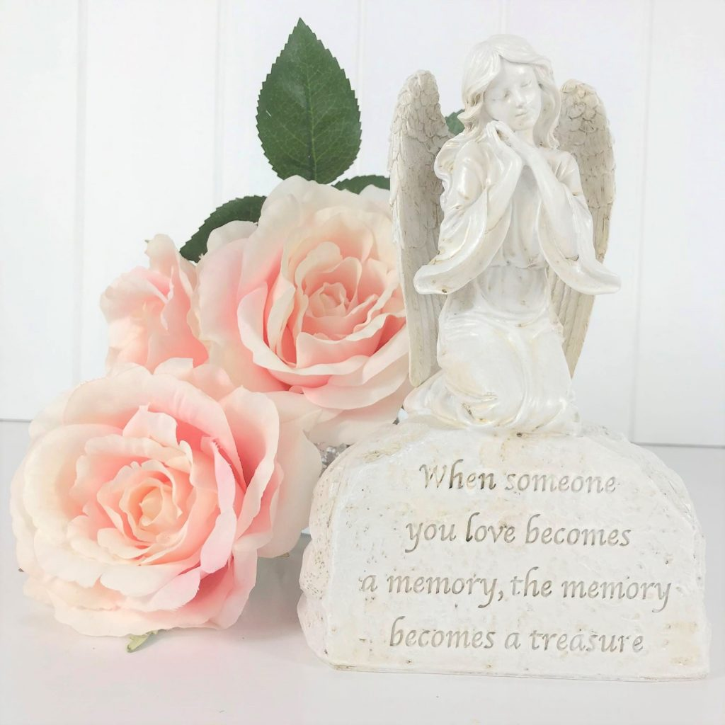 someone you love memorial angel ornament