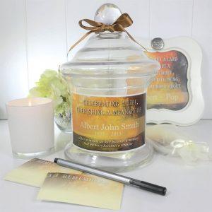 tranquil memories keepsake jar