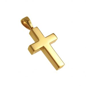 cross memorial cremation pendant