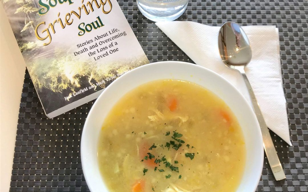 Does chicken soup have healing properties?
