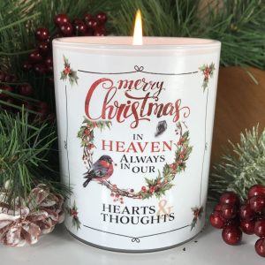 Always In Our Hearts Christmas Candle