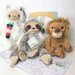 Best Mates Comfort Box A-Z Animals