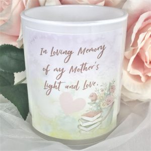 mothers light and love memorial candle