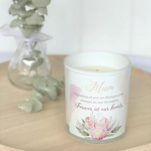 Wildflower Mothers Day Candle