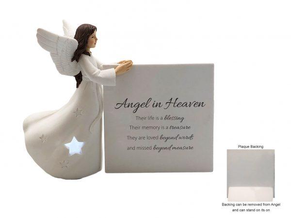Angel In Heaven Ceramic Figurine Ornament