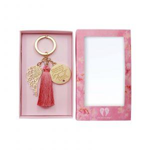 Guardian Angel Key Ring Open Box