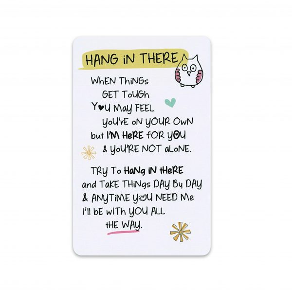 Hang In There Pocket Card