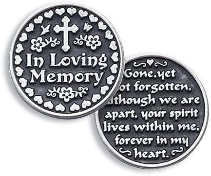 In Loving Memory Pocket Token Coin