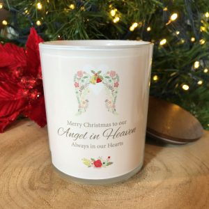 Our Angel Christmas Memorial Candle