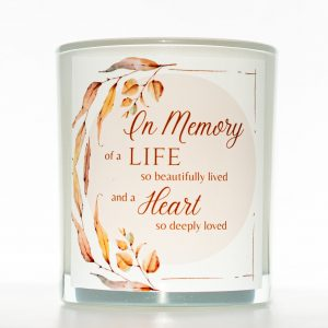 So Deeply Loved Memorial Candle
