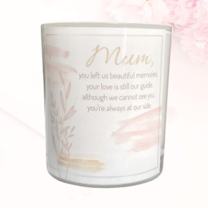 At Our Side Mothers Memorial Candle