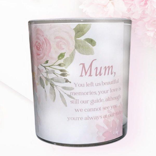 Beautiful Memories Mothers Memorial Candle