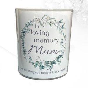In Loving Memory Mothers Candle