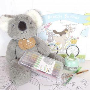 Banksia Buddies Comfort Box For Children Sympathy Hamper